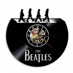 British Rock Band Music Vinyl Record Wall Clock