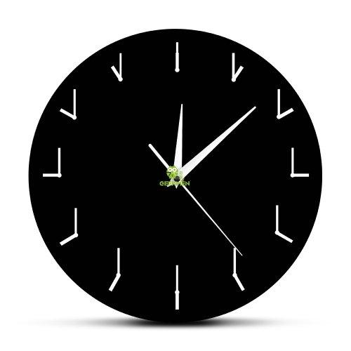 A Simple and Totally Redundant Wall Clock Decorative Wall Watch Clock For Living Room Redundant Clock Of Redundancy Abstrct Art